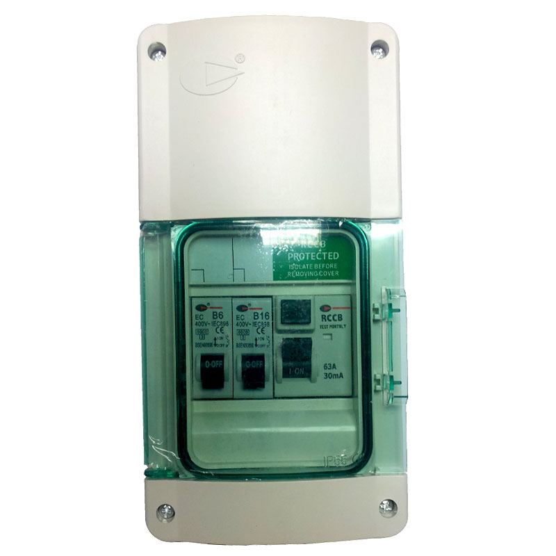 Garage fuse box residential electrical symbols lewden e garage consumer unit fuse box with rcd 2 mcb s weatherproof rh powerdiscount co uk garage fuse box keeps tripping garage fuse box cheapraybanclubmaster